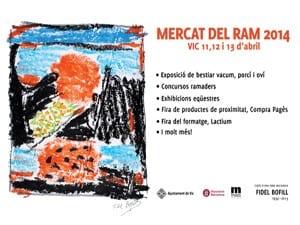 Mercat Del Ram A Vic 2014