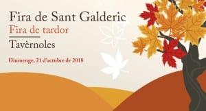 Tavèrnoles Dóna La Benvinguda A La Tardor Amb La Fira De Sant Galderic