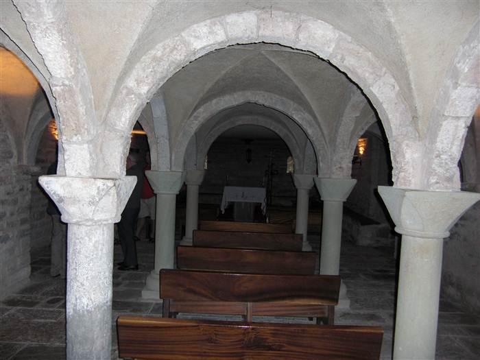 Cripta de Sant Andreu d'Oristà