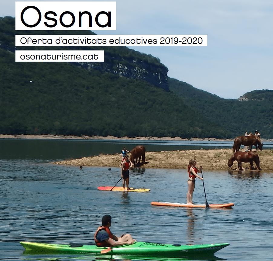 OSONA OFEREIX MÉS DE 100 ACTIVITATS EDUCATIVES