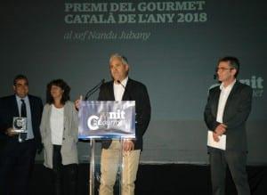 Nandu Jubany, Embotits Salgot I La Casa Riera Ordeix, Entre Els Premiats En La IV Nit Del Gourmet Català