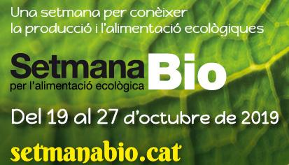 Arriba La 'Setmana Bio Per L'alimentació Ecològica'