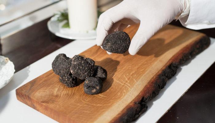Trufa Negra En Un Restaurant