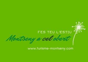 Cartell de Montseny a cel obert