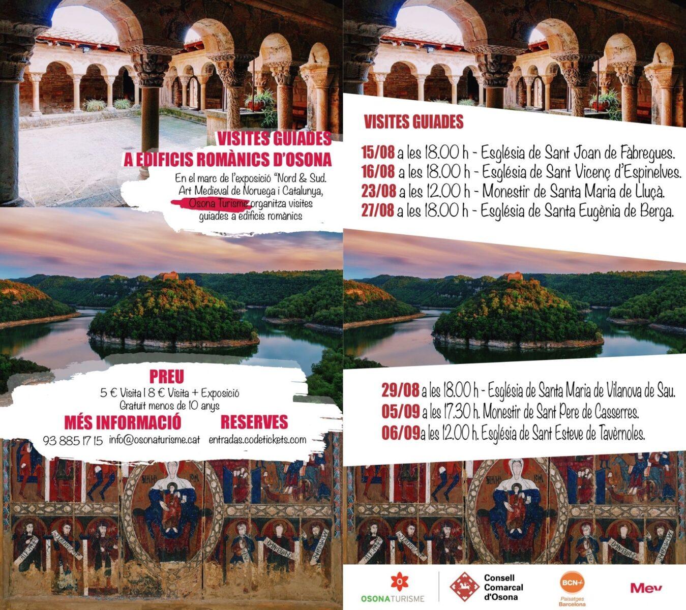 Nord & Sud: Visites Guiades Al Romànic D'Osona