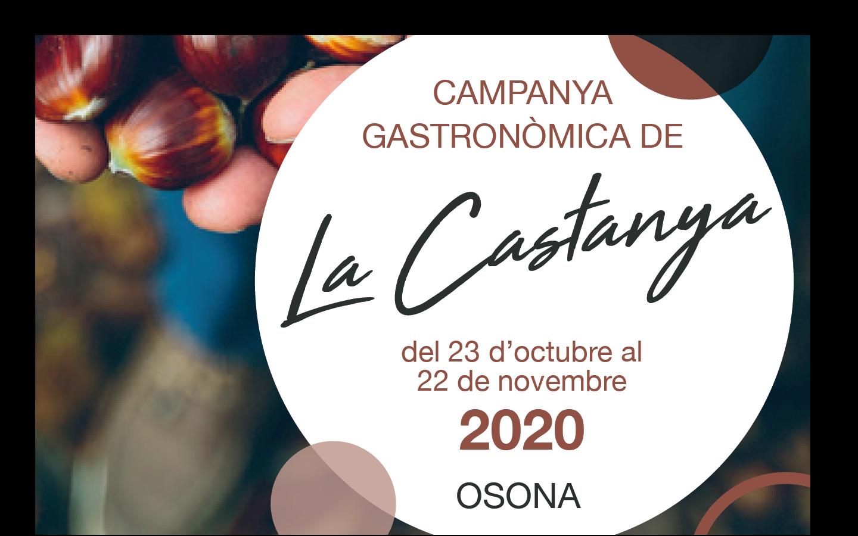 Campanya Gastronòmica De La Castanya 2020