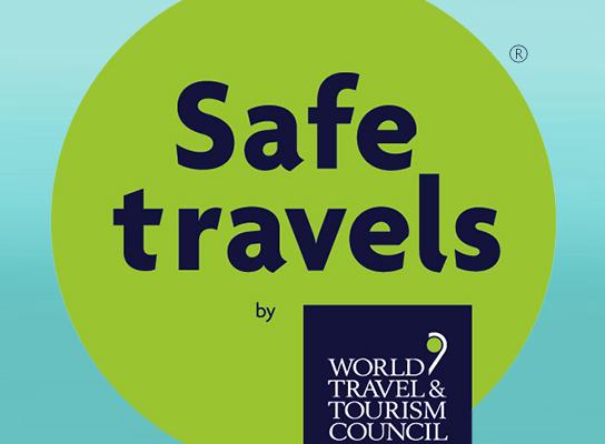 Icona Del Segell Safe Travels