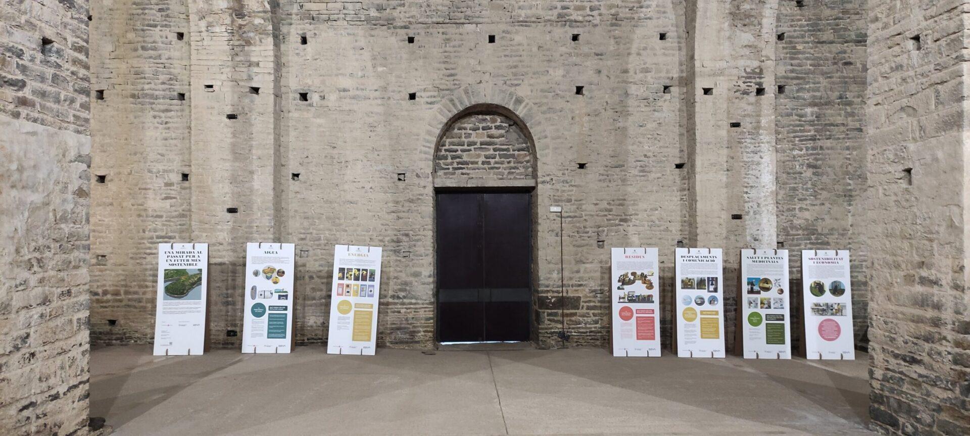 Sant Pere De Casserres Presenta Una Exposició Sobre Sostenibilitat