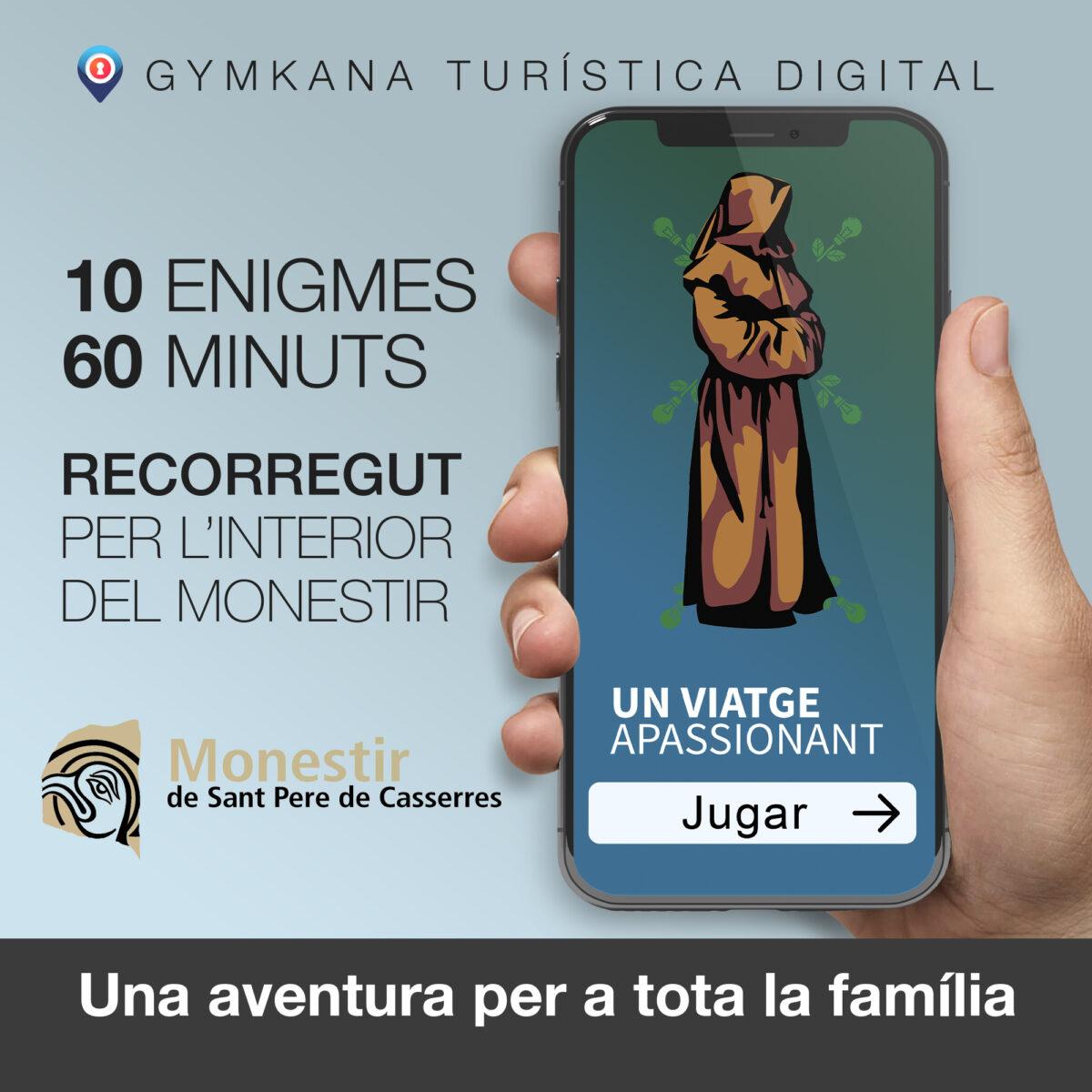 Un Viatge Apassionant, La Nova Gimcana Virtual Del Monestir De Sant Pere De Casserres